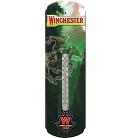 Rivers Edge Products Tin Thermometer - Winchester Rider