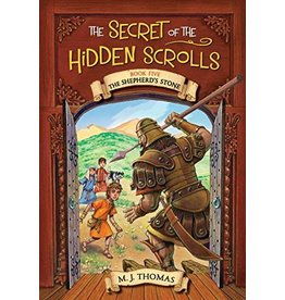 The Secret of the Hidden Scrolls: The Shepherd's Stone, Book 5 by M. J. Thomas (Paperback)