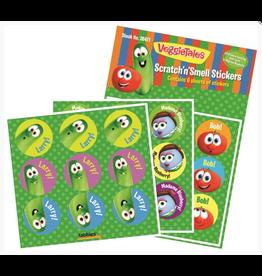 Tabbies VeggieTales® Scratch'n'Smell Stickers, 54 Pack