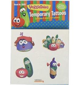 Tabbies VeggieTale Temporary Tattoos