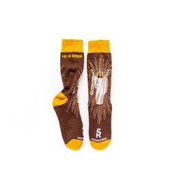 Sock Religious Resurrection Socks