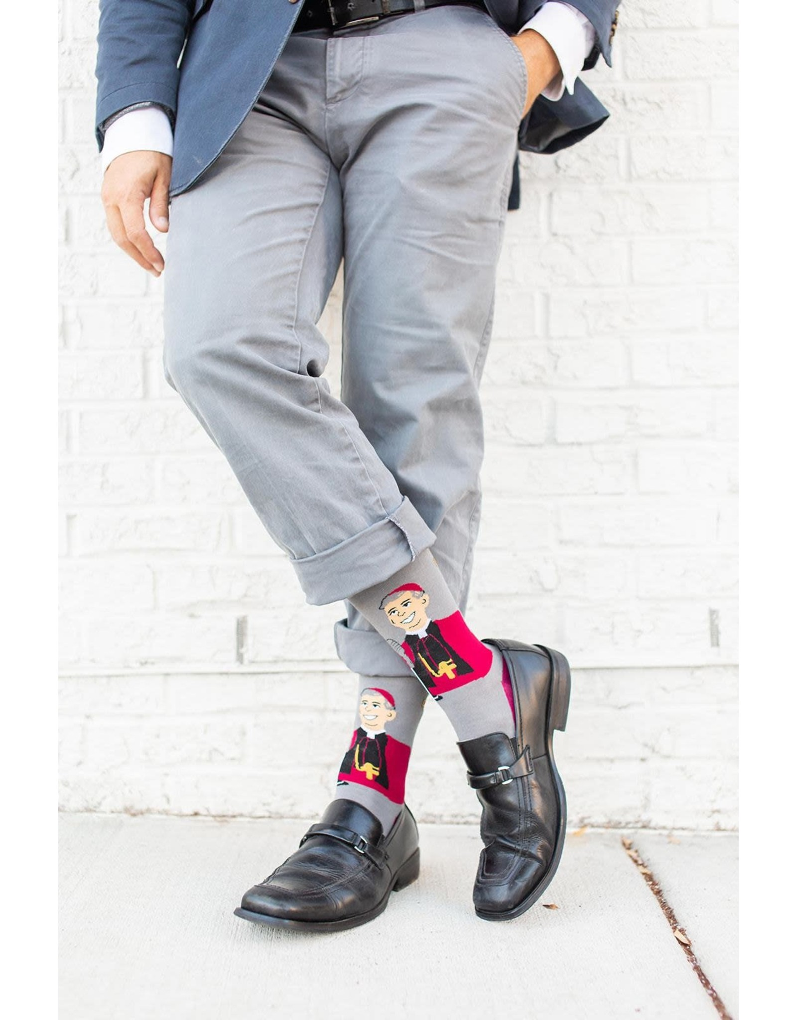 Sock Religious Archbishop Fulton Sheen Socks