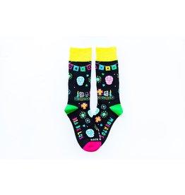 Sock Religious Day of the Dead Socks