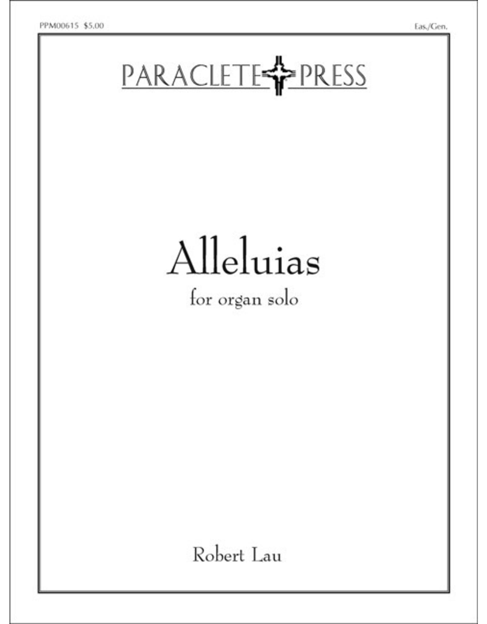 Paraclete Press Alleluias – Organ Sheet Music