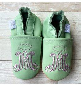 Chews Life Emmaus Crib Shoes | Mint | 18-24 Months