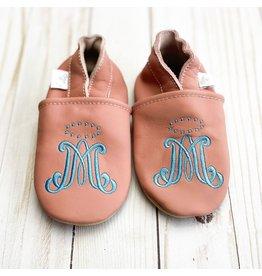 Chews Life Emmaus Crib Shoes | Pink | 18-24 Months