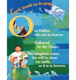 Paraclete Press Lord's Prayer Card - Protestant