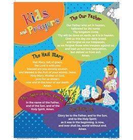 Paraclete Press Kids & Prayers - Prayer Card, Catholic