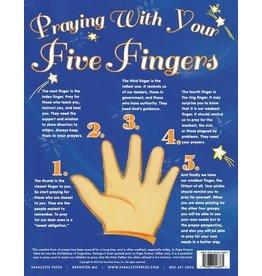 Paraclete Press Praying with My Five Fingers - Prayer Card, Catholic