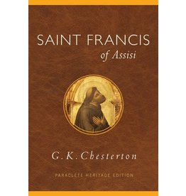 Paraclete Press Saint Francis of Assisi By G. K. Chesterton (Paperback)