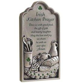 """Abbey + CA Gift Irish Kitchen Prayer Plaque, 3.75""""x7"""""""