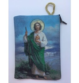 Oremus Mercy Small Rosary Pouch – St. Jude(3″ x 4″)
