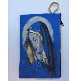 Oremus Mercy Medium Rosary Pouch -Our Lady of Sorrows (4″ x 6″)