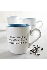 Christian Brands 16oz TA Mug - Never Laugh (F3763B)