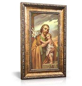 "Christian Brands 13"" Adams St Joseph Framed Print"