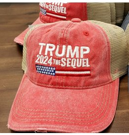 Trump 2024 The Sequel - Red
