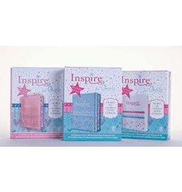 Girls -  Inspire Bible for Creative Journaling - NLT (Hardcover)