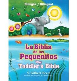 La Biblia de los Pequenitos - Toddlers Bible - Bilingue - Bilingual