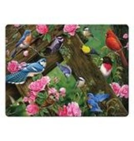 Rivers Edge Products Cutting Board 12in x 16in - Song Birds