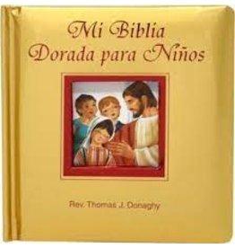 Catholic Book Publishing Mi Biblia Dorada para Ninos - Español