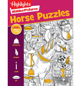 Highlights Horse Puzzles Activity Book