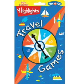 Highlights Travel Games - with game spinner