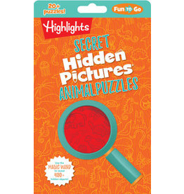 Highlights Secret Hidden Pictures - Animal Puzzles