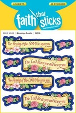 Faith that Sticks Blessing Scrolls - Stickers
