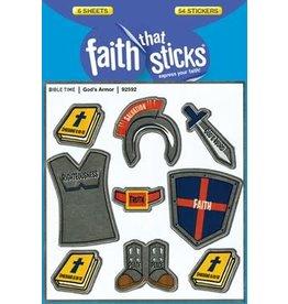 Faith that Sticks God's Armor -Stickers