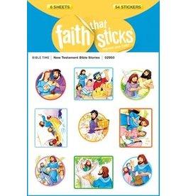 Faith that Sticks New Testament Bible Stories - Stickers