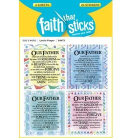Faith that Sticks Lord's Prayer - Stickers