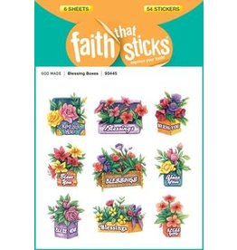 Faith that Sticks Blessing Boxes - Stickers