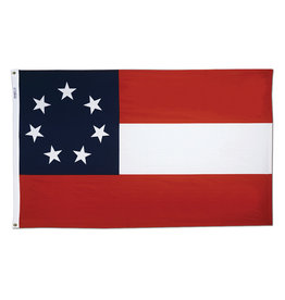 Annin Stars & Bars Flag - 3' x 5' Nyl-Glo