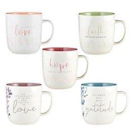 Faithworks - Gifts of Faith Encouraged in Heart Mug