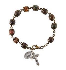 Christian Brands Rosary Bracelet Miraculous - Italy