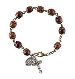 Christian Brands Rosary Bracelet Sacred Heart -  Italy