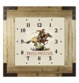 """Rivers Edge Products Winchester - 24"""" Clock - Wood Frame"""