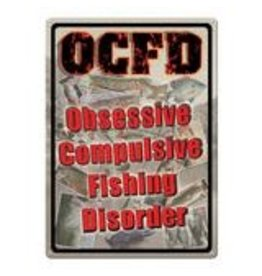 Rivers Edge Products OCFD - Obsessive, Compulsive, Fishing, Disorder