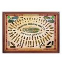 """Rivers Edge Products Winchester Repeating Arms Co - Tin sign 12"""" x 17"""""""