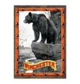 """Rivers Edge Products Winchester White Man  - Tin sign 12"""" x 17"""""""