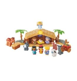Fisher Price Little People Fisher Price Deluxe Christmas Story Nativity Set