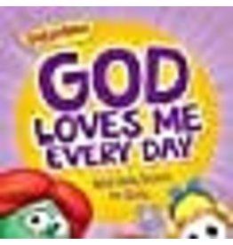 VeggieTales God Loves Me Every Day - 365 Daily Devos for Girls - VeggieTales