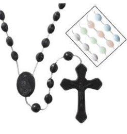 Autom White Cord Rosary -2 pc center