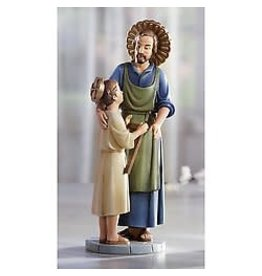 "Avalon Gallery Saint Joseph the Worker and Child 8"" - Hummel"