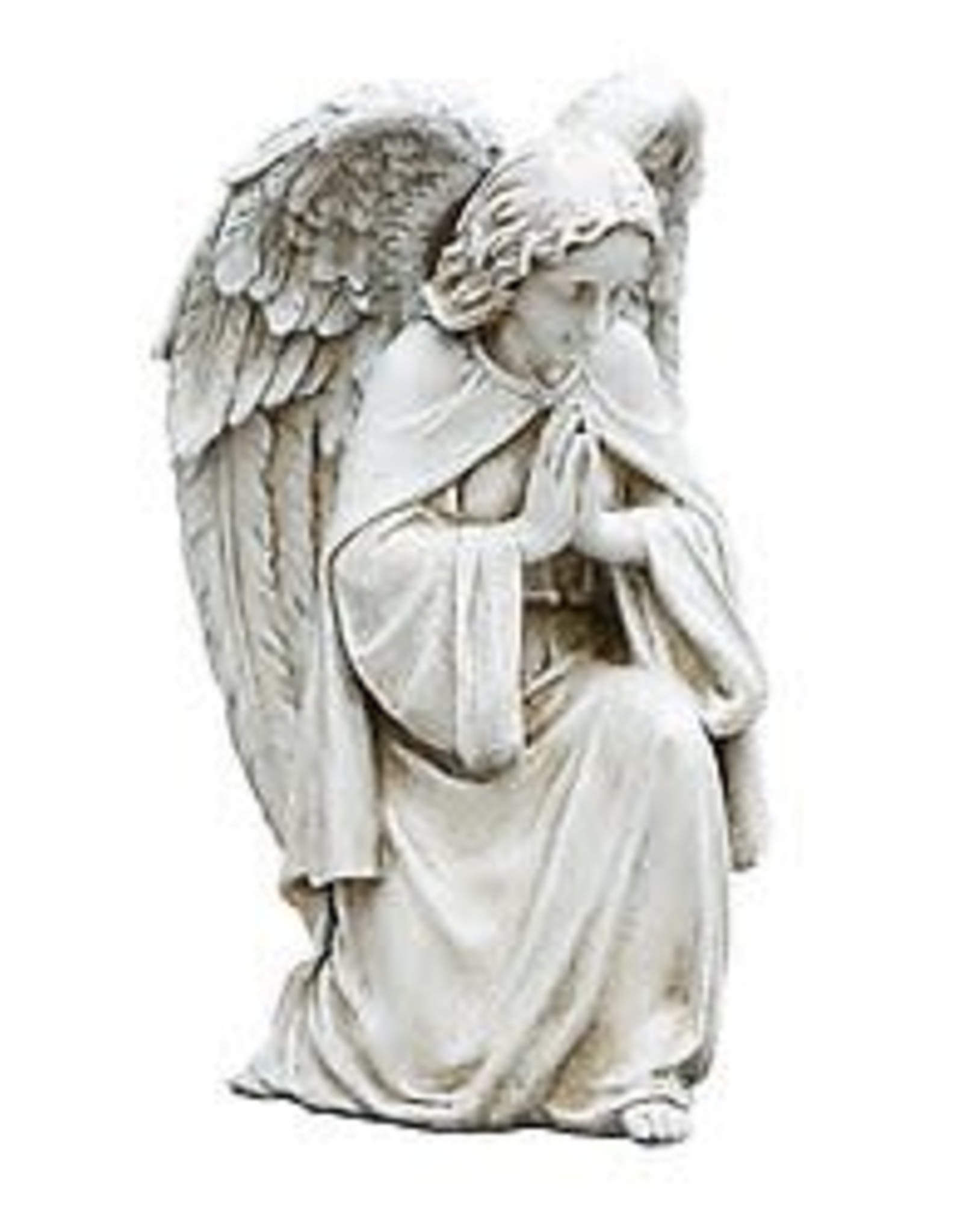 "Avalon Gallery 12"" Praying Angel Garden Statue"