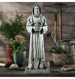 "Avalon Gallery 24"" Saint Fiacre - Garden Statue"
