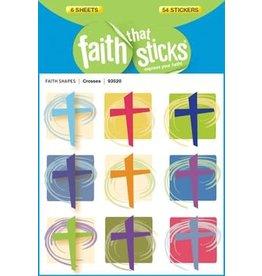 Faith that Sticks Crosses -Stickers