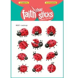 Faith that Sticks Ladybugs  -Stickers