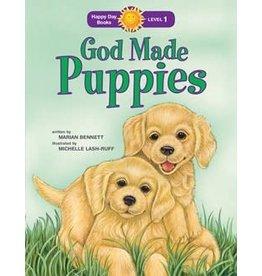 Faith that Sticks God Made Puppies - Marian Bennett