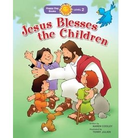 Faith that Sticks Jesus Blesses the Children - Karen Cooley - Level 2
